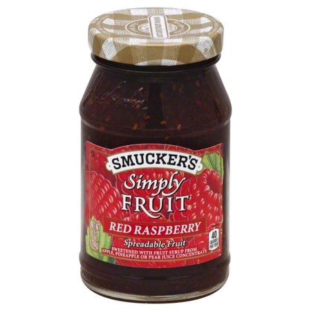 Smucker's Simply Fruit Red Raspberry Spreadable Fruit, 10 oz for $<!---->