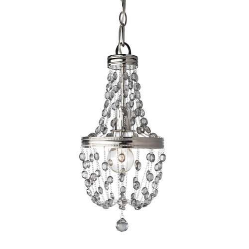 "Murray Feiss P1279 Malia 18"" High 1 Light Beaded Mini Pendant"