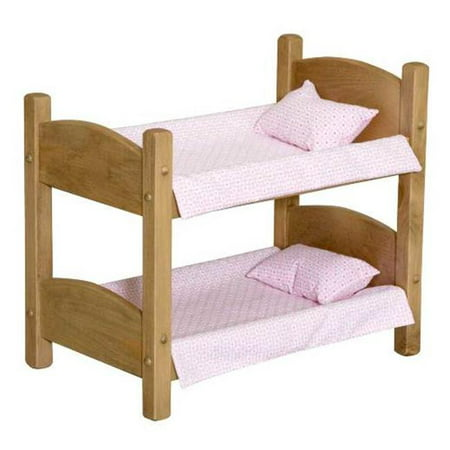 Lapps Toys Furniture 006 U Wooden Doll Bunk Bed 44 Unfinished Walmart Canada