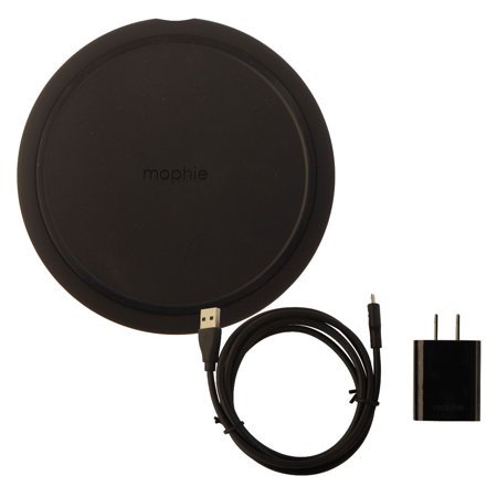 best cheap 4c5ee b3a3f Mophie Charge Stream Pad+ Universal Qi Fast Charge Wireless Charging Pad -  Black (Refurbished)