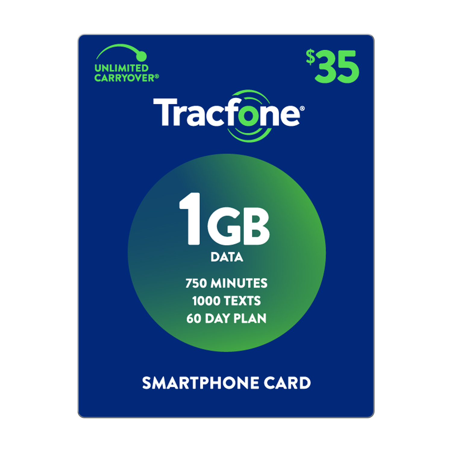 TracFone $35 1 GB Plan (Email Delivery)