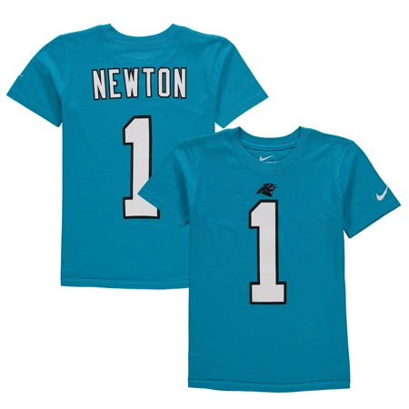 Cam Newton Carolina Panthers Nike Youth Color Rush Player Pride Name & Number T-Shirt -