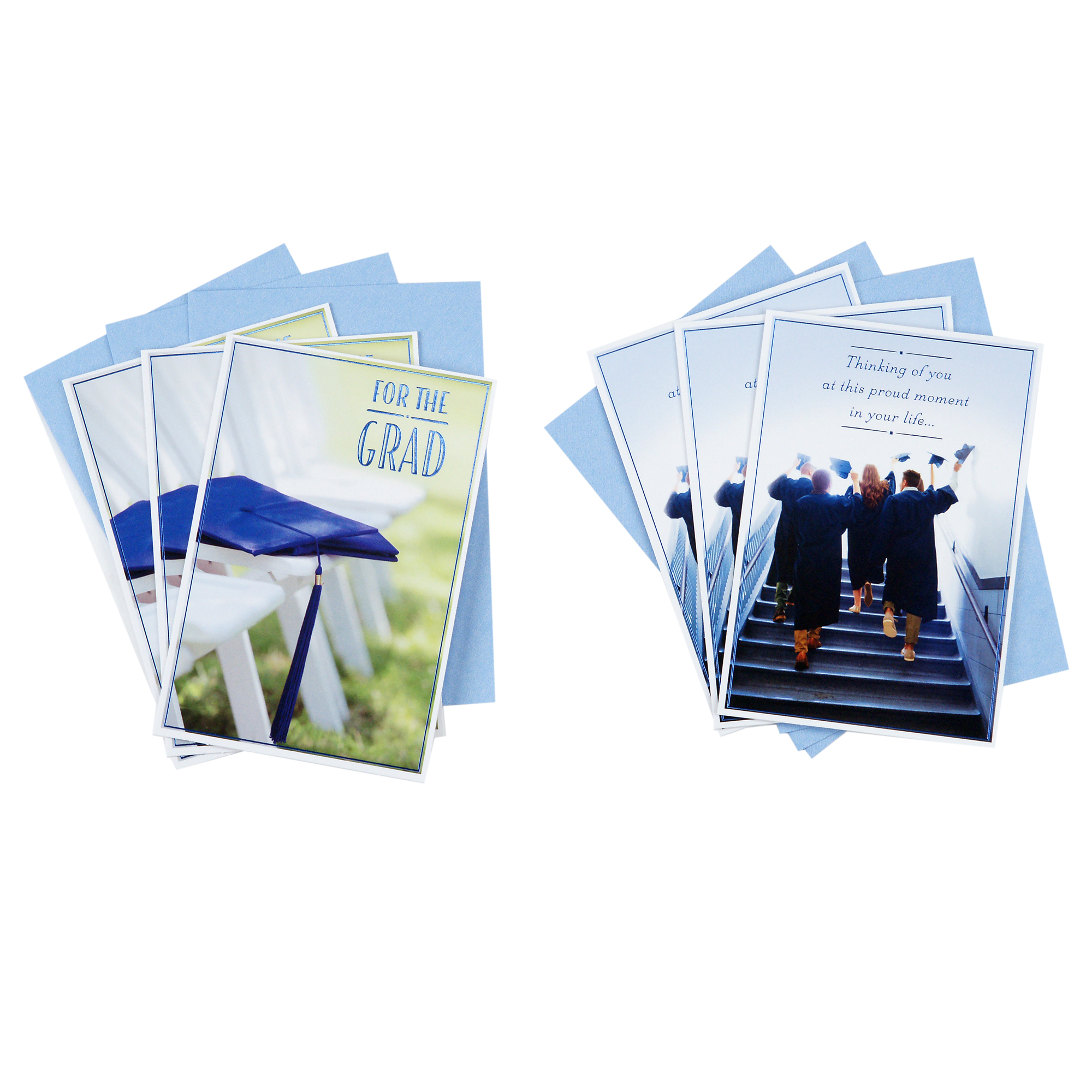 Hallmark Graduation Cards Assortment, Wishing You Success (6 Cards with Envelopes)