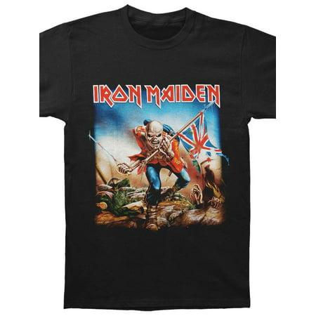 Iron Maiden Men's  Trooper T-shirt Black - Iron Maiden Halloween Wallpaper