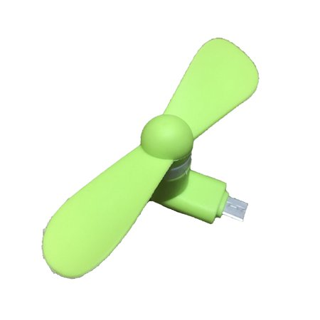 For Android Portable Cool Micro USB Fan Mobile Phone USB Fans Low Voice Fan - image 5 of 6