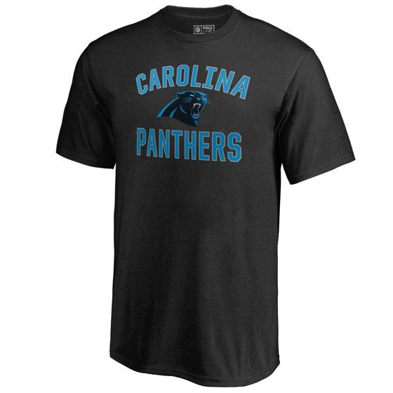 1112f1a9 Carolina Panthers NFL Pro Line by Fanatics Branded Youth Victory Arch T- Shirt - Black - Walmart.com