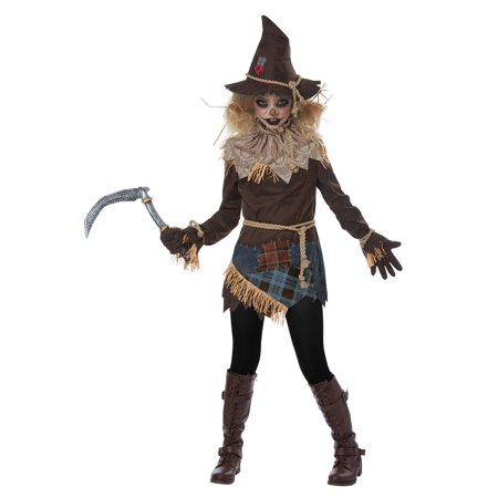 Creepy Scarecrow Child Costume - Cheap Scarecrow Costume
