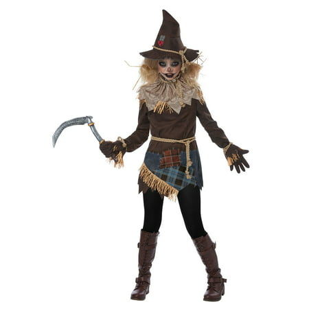 Creepy Scarecrow Child Costume - Scarecrow Girl Costume