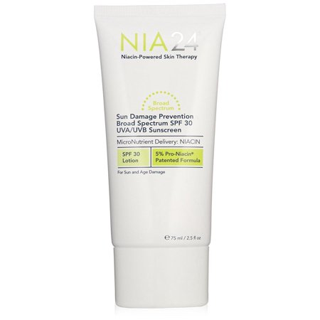 Nia 24 Sun Damage Prevention Broad Spectrum SPF 30 UVA UVB Sunscreen, 2.5 OZ. SEALED