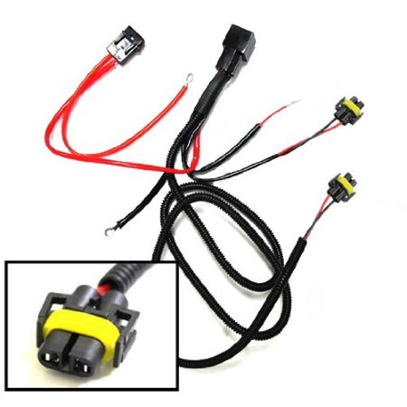 Fog Light Relay - iJDMTOY H11 880 890 Relay Wiring Harness For HID Conversion Kit, Add-On Fog Lights, LED Daytime Running Lamps and more