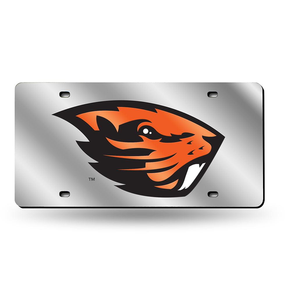 Oregon State Beavers NCAA Laser Cut License Plate Tag
