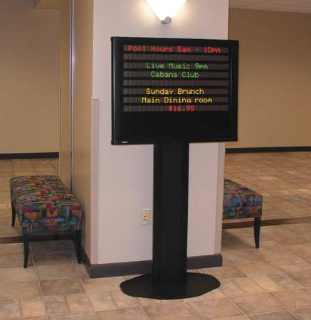 ADAPTIVE MICRO SYSTEMS 10221411A Message Display Sign