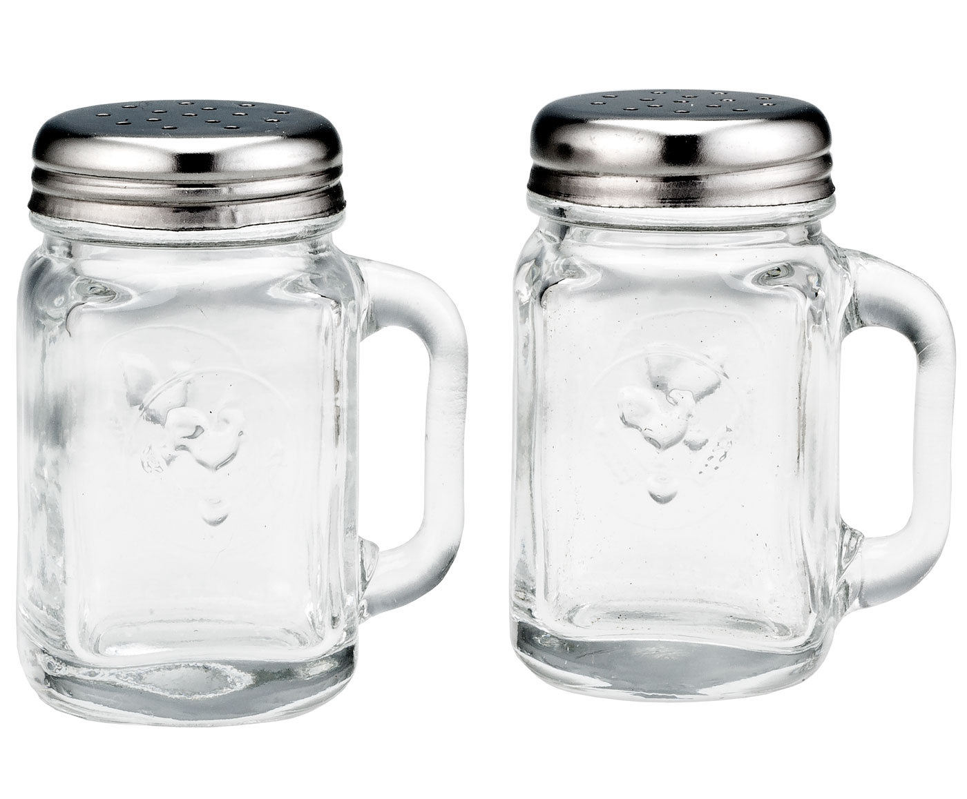Mason Jar Salt & Pepper Shakers by WalterDrake