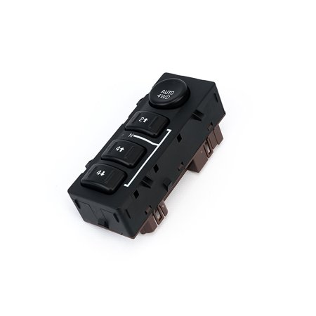 4WD Switch 4x4 Transfer Case Button - Replaces 15136039, 15164520, 19259313, 901-072 - Chevy Silverado, Chevrolet Suburban, Avalanche, Tahoe, GMC Yukon, Sierra - 2003, 2004, 2005, 2006, 2007 (2004 Silverado Door Switch)