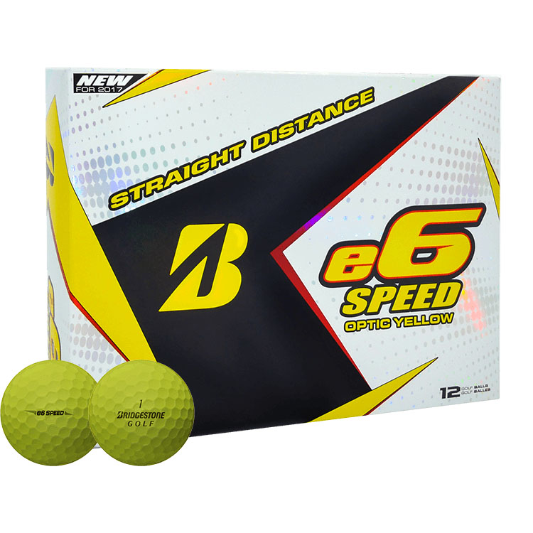 6 Dozen NEW Bridgestone e6 Speed Straight Distance Balls ...