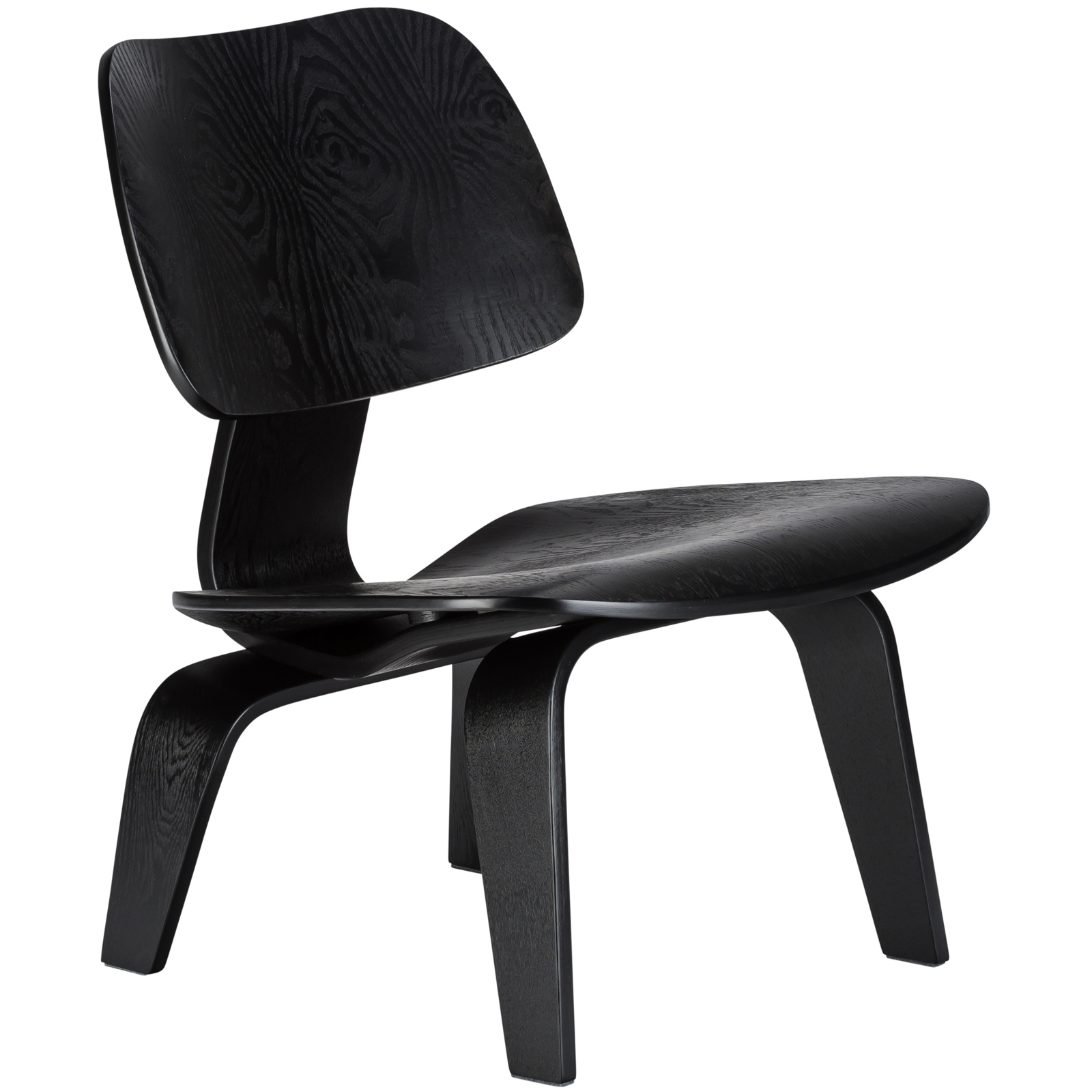 Poly and Bark Isabella Lounge Chair in Black