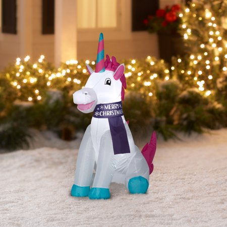 Holiday Time 3.5 ft. Unicorn I...