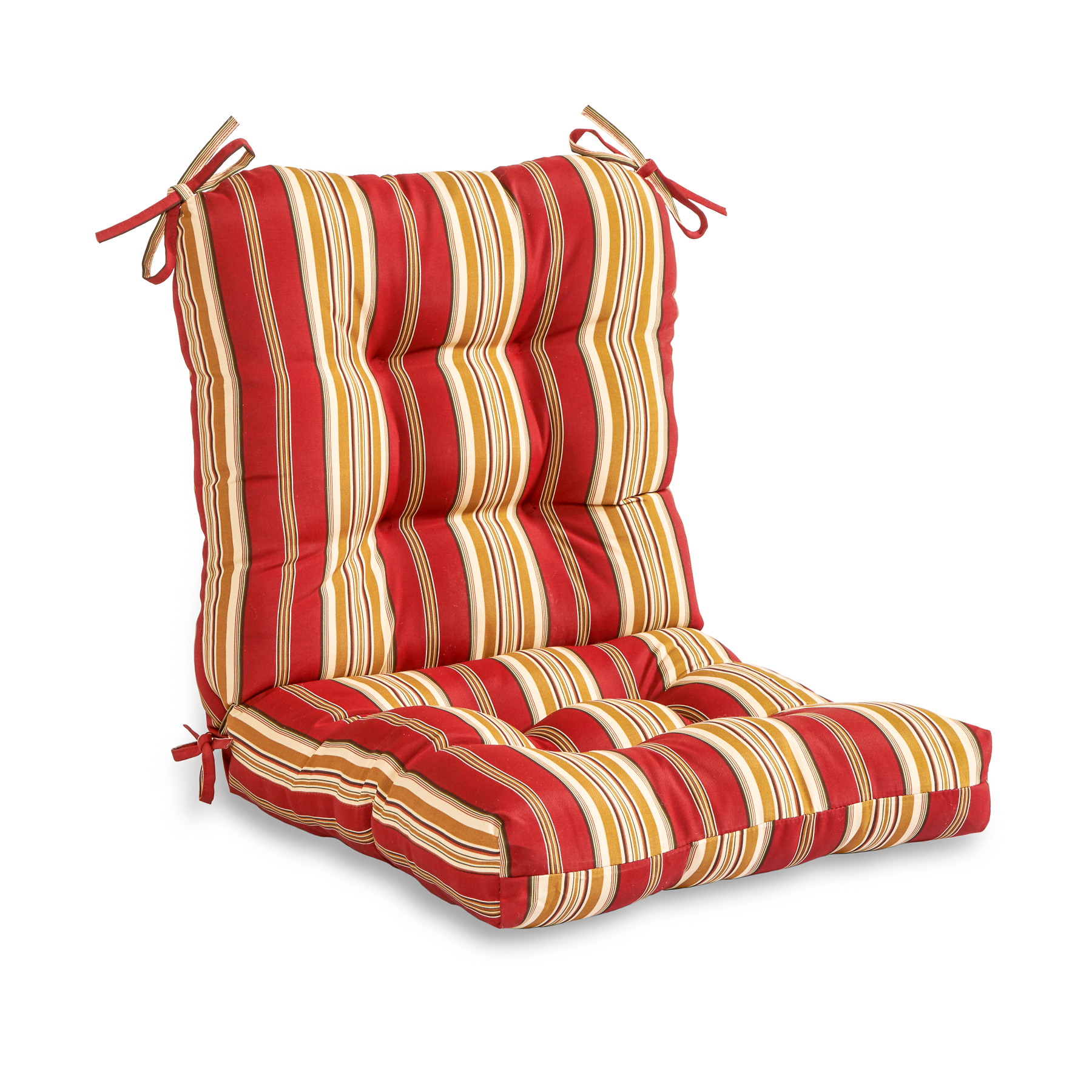 Greendale Home Fashions Roma Stripe Outdoor Seat/Back Combo Cushion