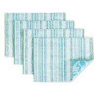 Patricia Heaton Home Chinoiserie Indoor/Outdoor 4 Pack Reversible Placemat Set