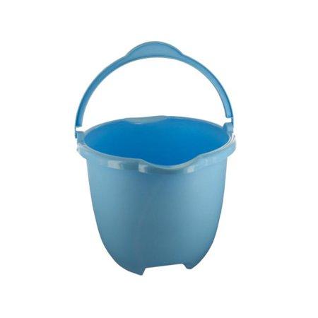 Bulk Buys OL593-8 Plastic Bucket with Handle Pour Spouts, 8 Piece