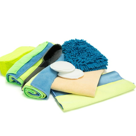 Dry Wash System - Zwipes 12-Piece Deluxe Wash Wax and Dry Kit
