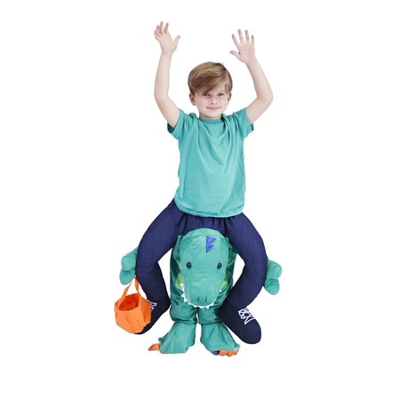 Ride On Piggyback Dinosaur Youth Costume