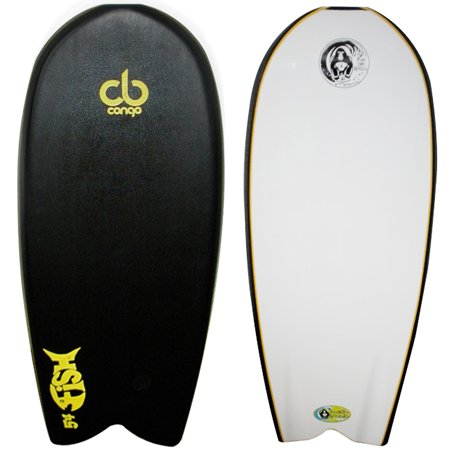 Congo Fish 54  Red Deck  White Bottom
