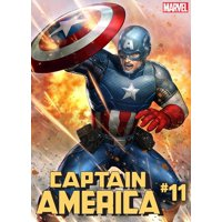 Marvel Captain America #11 [Battle Lines Variant Cover]