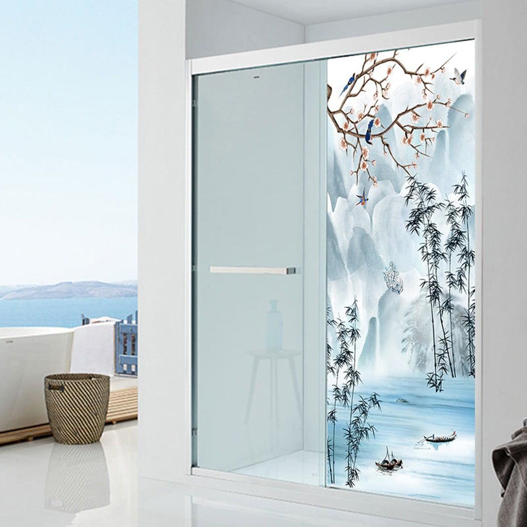 2pcs 38.5*200 cm Self-Adhesive Door Wall /& Fridge Vinyl Sticker Decal Home Decor