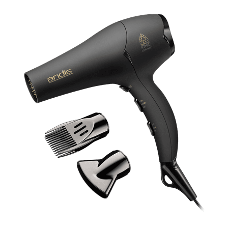 Andis Pro Dry Soft Grip Tourmaline Ceramic Hair Dryer, 1875W ()