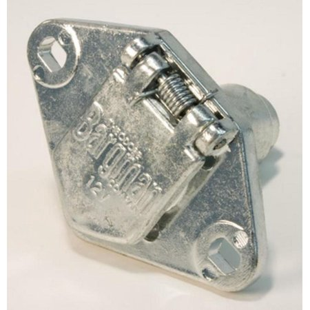 6 Way Car End - Cequent 54-60-001 (12) 6-Way Zinc Die Cast Connectors - Car End - Bagged