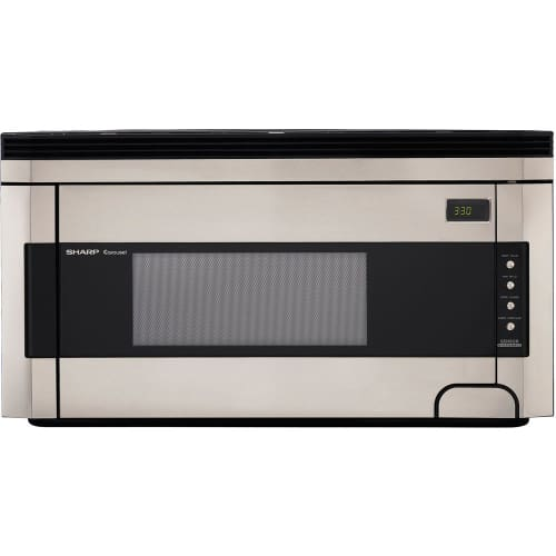 "Sharp R1514T 30"" Wide 1.5 Cu. Ft. Over-the-Range Microwave with Sensor Cooking"