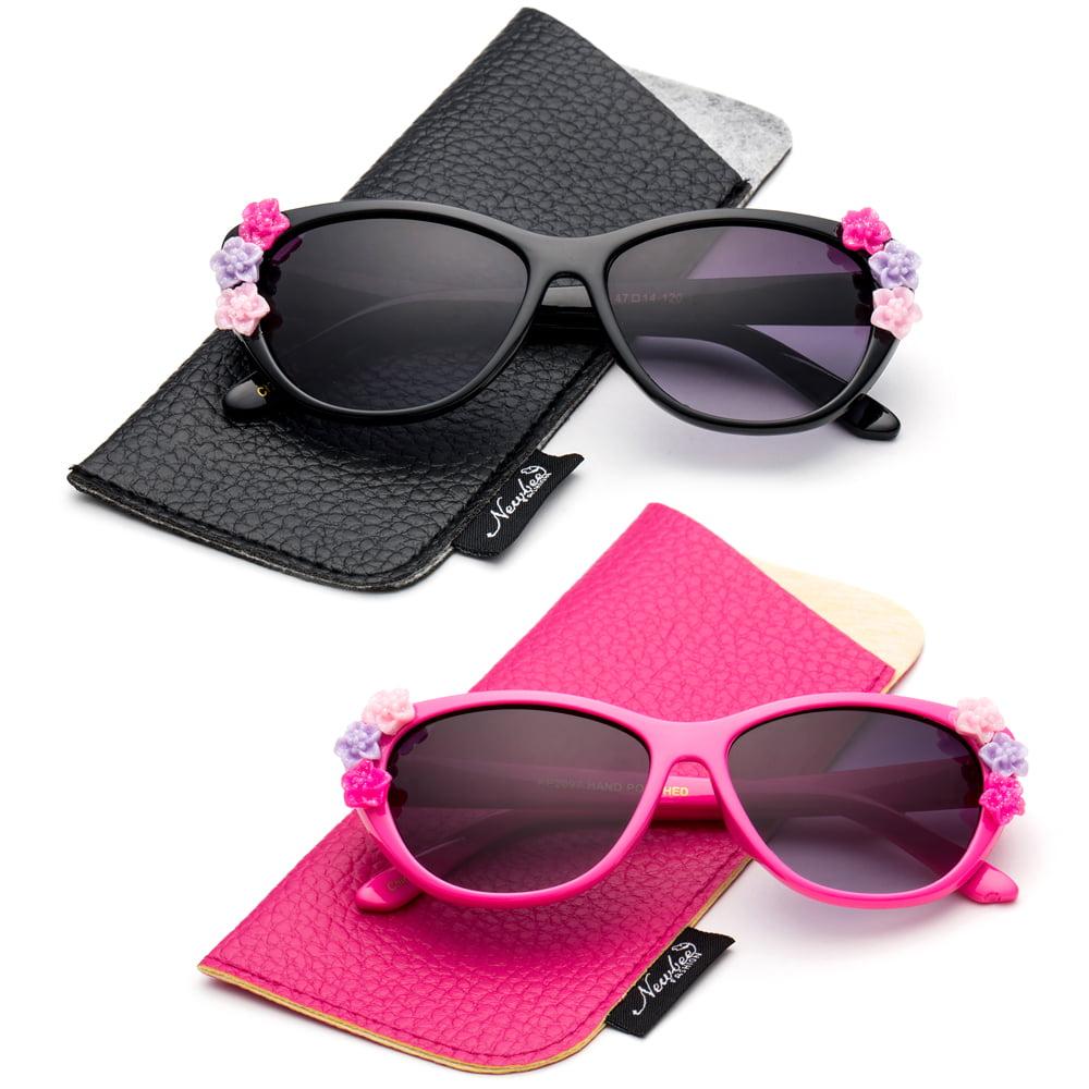 Protection Toddler Sunglasses for Girls and Boys Baby Shark 2PK Kids Sunglasses
