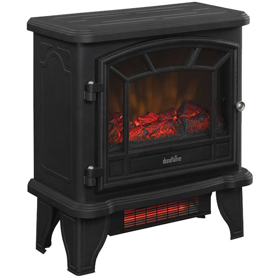 Duraflame Infrared Electric Old Fashioned Stove Heater