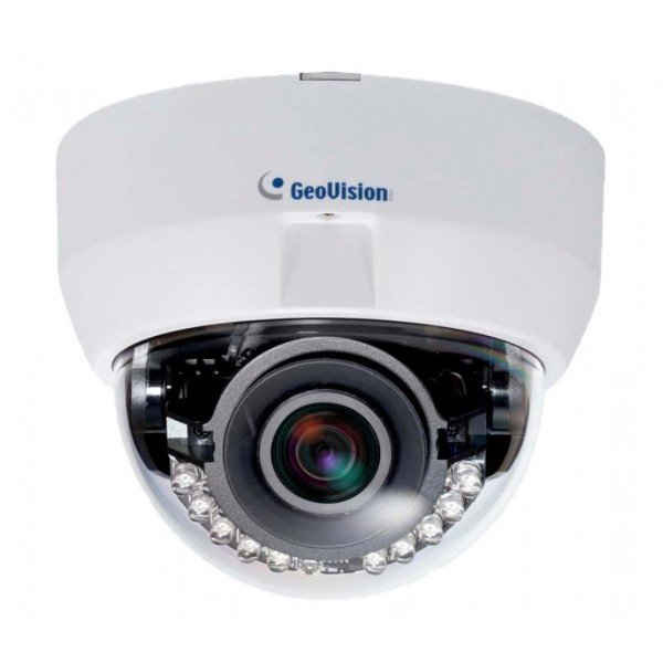 Geovision 90-FD57000-0010 GV-FD5700 5 Megapixel Indoor IR Fixed IP Dome