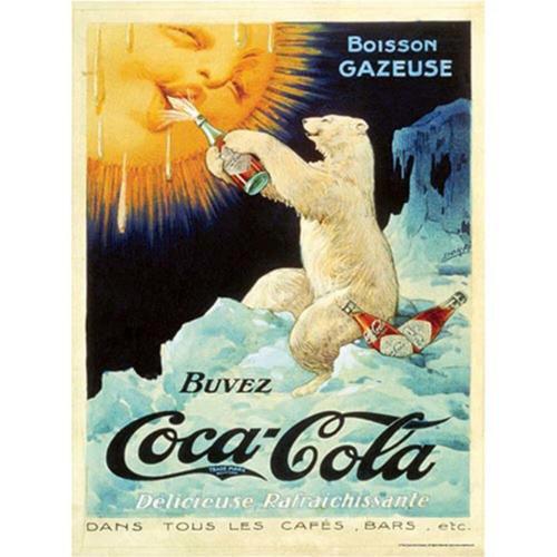 Aquarius Coca Cola Bear Jigsaw Puzzle