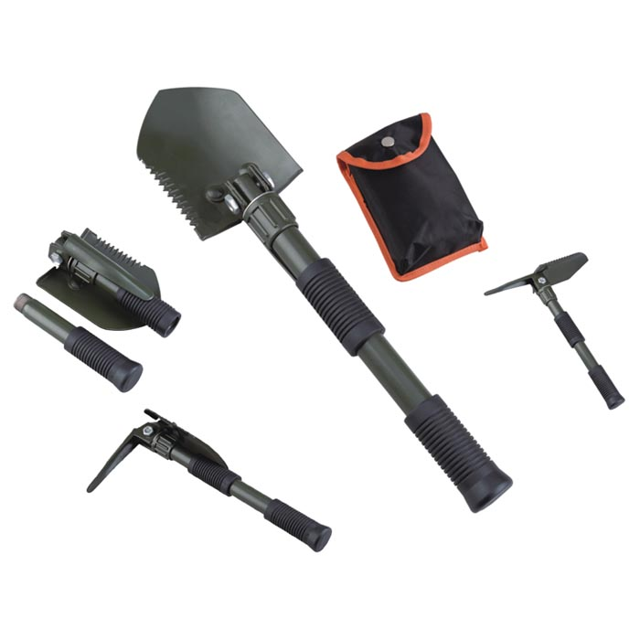 Acecamp Folding Shovel With Pick 2588 by Acecamp
