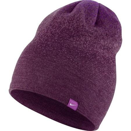 Nike - NEW Nike Women s Hypervis Vivid Purple Mulberry Skully Beanie Winter  Cap - Walmart.com 8a4f109cd06