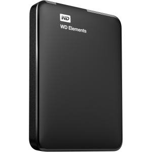 Western Digital Elements 1TB Portable Hard Drive USB 3.0 - BLACK