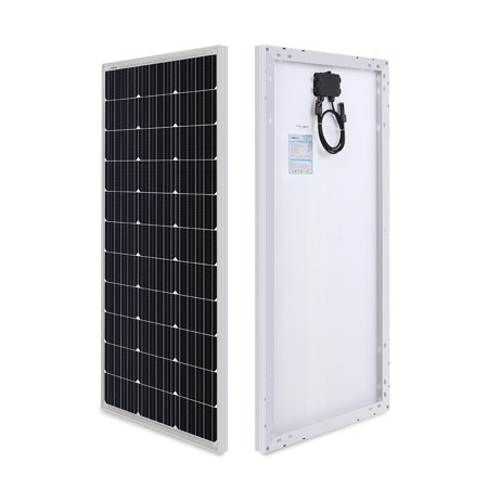 10w Solar Panel Kit (Renogy 100 Watt 12 Volt Monocrystalline Solar Panel (Compact Design))
