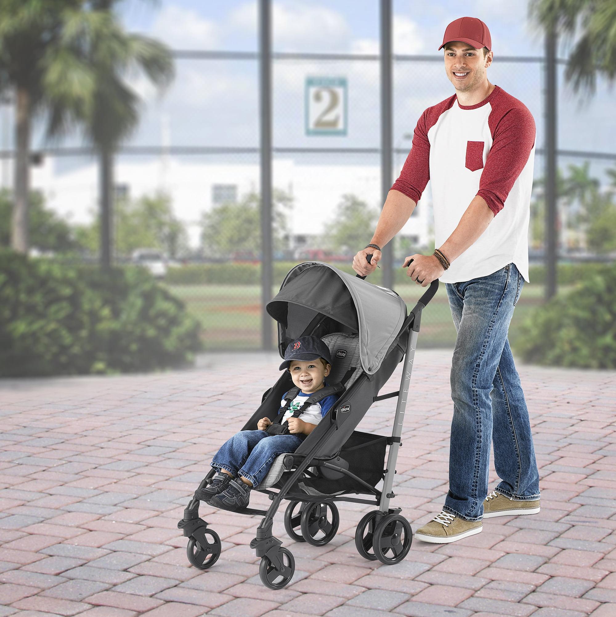 2f5ebf42c1d Chicco Liteway Stroller - Fog - Walmart.com