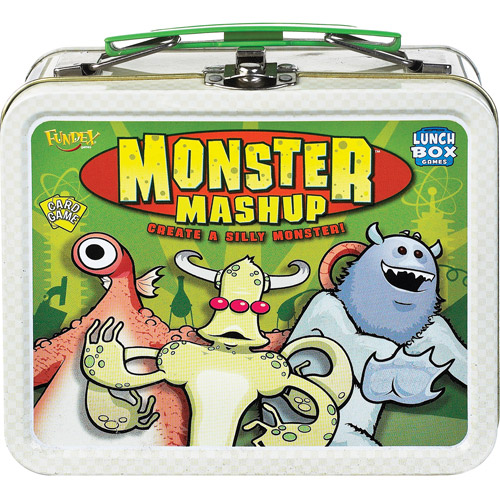 Ideal Monster Mashup Card Game with Collectible Lunch Box