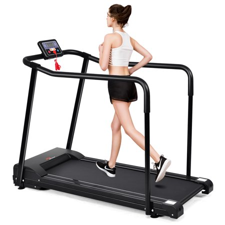 Goplus Electric Treadmill Walk To Fitness For Olders w/ Extra-long