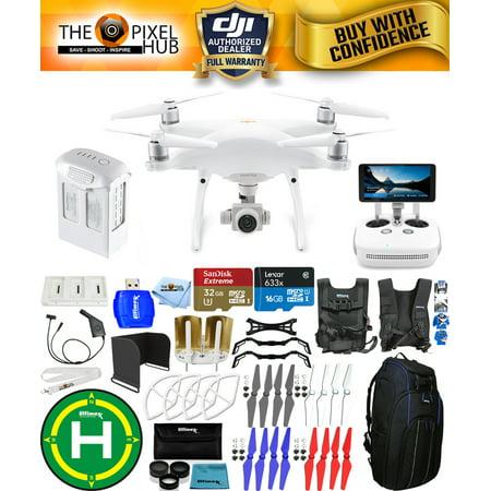 DJI Phantom 4 Pro+ Version 2.0 Drone Bundle W/ Pro II Backpack + More