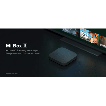Finders | Xiaomi Mi Box S 4K HDR Android TV with Google Assistant