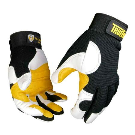 Tillman 1490 Ultra True Fit Premium Top Grain Goatskin Work Gloves, - True Fit Top Grain