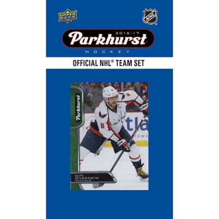Washington Capitals 2016 2017 Upper Deck PARKHURST Series Factory Sealed Team Set including Alexander Ovechkin, T.J. Oshie, Nicklas Backstrom (Plus Size New Years Eve Outfits 2016)