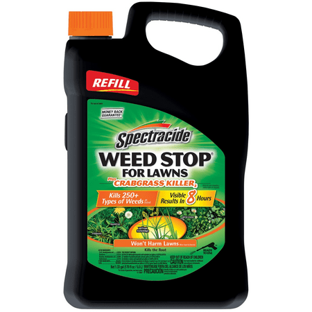 Spectracide Weed Stop for Lawns plus Crabgrass Killer AccuShot Sprayer, 1.33 gallon