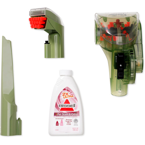 bissell little green proheat pet portable deep cleaner 1425w walmartcom bissell little green