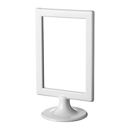 Ikea Tolsby Frame for 2 Sided Pictures , White, 4 x